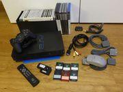 Sony PS2 inkl Zubehör und