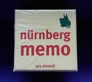 Spiel Nürnberg Memo Karten NEU