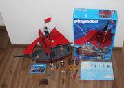 Playmobil Piraten Piratenschiff 3174 roter