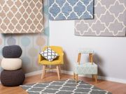 Teppich hellblau 80 x 150