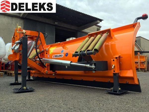 DELEKS® LN-250-A Schneeschild mit Hebe-