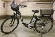 Pedelec-E-Bike von KTM mit tiefen