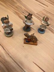 4 schöne alte Figuren aus