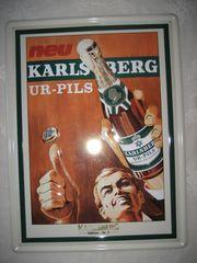 Blechschild Karlsberg Ur-Pils 30 x