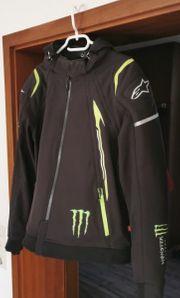 Motorradjacke XL Alpinestars im MonsterEnergy