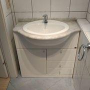 Waschbecken, 80 cm