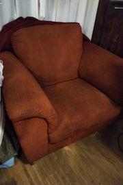 Sessel Orange Tarakkota gross Komfortable