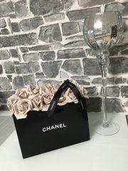 Chanel Deko Flowerbox Rosenbox NEU