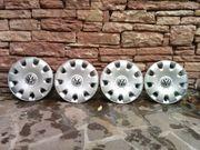 4 Volkswagen Radkappen 15 Zoll