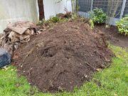 7-8 m3 Gartenerde mit leichtem