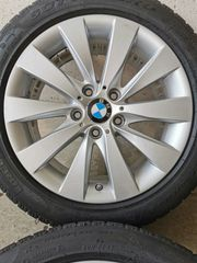 BMW Alufelgen mit Winterreifen 17
