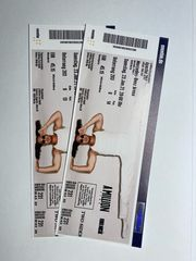 2x Apache 207 Berlin Tourtickets