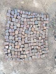 1m2 Granit Kopfsteinpflaster Beetsteine Pflastersteine