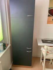 Respekta Küchenzeile 270cm Grau mit