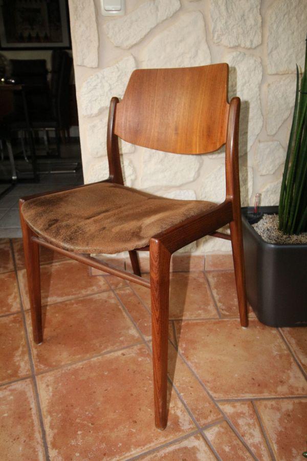 Schwedische Esszimmer Stühle Aus Den 60er In München Speisezimmer