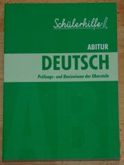 NEU - Schülerhilfe Deutsch - für die