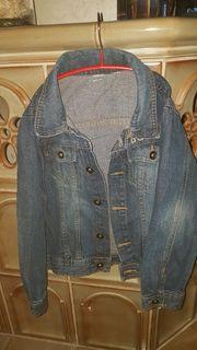 Jungen 134 140 Jacke Jeansjacke
