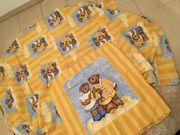 2 Personen Bettwäsche Kinderbettwäsche gelb