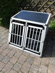 Hundebox Aluminium