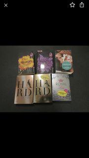 Romane Bücher Liebe 6 Stück