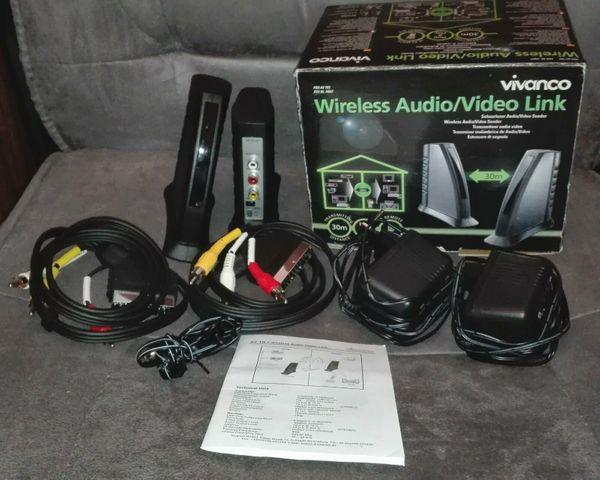 Vivanco Wireless Audio Video Link
