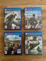4 Playstation PS4 Games