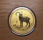 1 Unze Goldmünze Australien Lunar