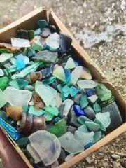 Meerglas Box echt für Ihre