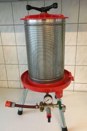 Obstpresse - Hydropresse 20 Liter NEUWERTIG