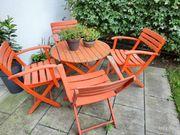 Gartentisch mit 4 Stühlen zu