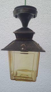 Verkaufe gebrauchte Flur oder Außenlampe