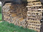 Brennholz Fichte und Kiefer trocken