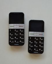 2 Mobiltelefone Emporia Großtasten V32