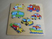 Holz Puzzle Fahrzeuge