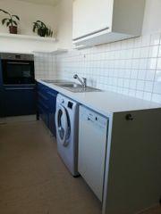 Küche ist Neuwertig und Blau