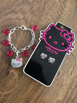 Neu! Set Hello Kitty Kinder Schmuck