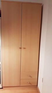 Kleiderschrank Holz gut erhalten für
