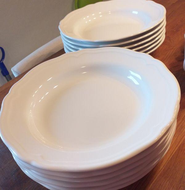 12 IKEA Porzellan Suppenteller der