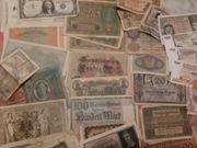 Banknoten - alte bis ganz alte