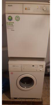Waschmaschiene und Abluftrockner
