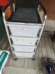 Rollcontainer mit 4 Schubladen