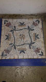 2X Mozaik Medaillon