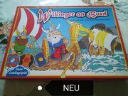 Gesellschaftsspiel Wikinger an Bord