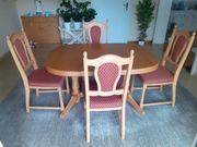 Tischgruppe Eiche massiv