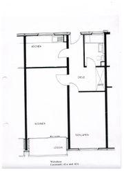 Erdgeschosswohnung in guter Wohnlage mit