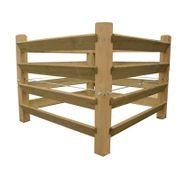 Holzkomposter für den Garten Holz