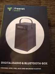 Digitalradio und bluetooth-box