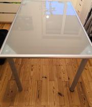 Moderner Glastisch Schreibtisch