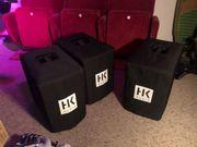 HK Audio Boxen Set Live