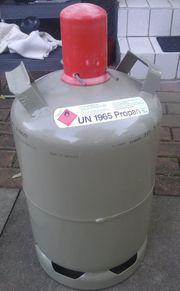 Campinggasflasche 11 5 KG teilgefüllt